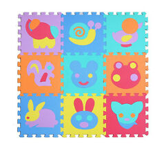 30cm*30cm*1cm EVA Foam Alphabet Letter Numbers Soft Play Mat Educational Puzzle