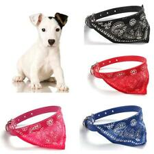 New Cute Pet Dog Cat Puppies Collars Scarf Neckerchief Necklace Triangle Lovely
