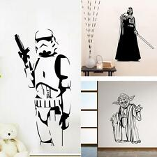Star Wars Classic Stormtrooper Darth Vader Yoda Stick Gaint Wall Decal Removable