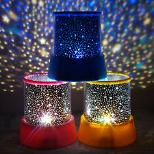 Magic Rotate Sky Star Master Night Light Cosmos LED Projector Lamps Gift Baby