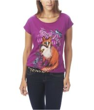 Aeropostale Womens Glitter Stone Cold Graphic T-Shirt