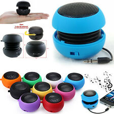 DIGIMANIA PORTABLE 3.5MM SPEAKER BLACK FOR NUMEROUS PHONES  RECHARGEABLE