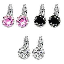 1Pair New Fashion Women Lady Elegant Crystal Rhinestone Ear Stud Earrings