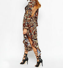 KISS THE SKY 'IN THE TRANCE' 70's Style Midi Dress Sizes M=10 and L=12