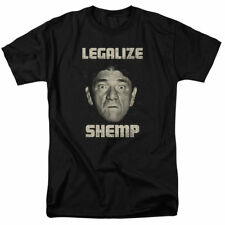 T-Shirts Sizes S-5XL New Authentic Mens Three Stooges Legalize Shemp Tee Shirt