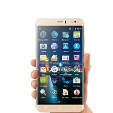 "6"" Quad Core Dual SIM 3G GSM Unlocked Smartphone qHD Android 5.1 Cell Phone GPS"