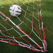 2 x Precision Training 3.5mm Knotted Goal Nets Polyethylene Football Net