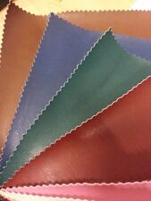 FAUX LEATHER Premium Vinyl Upholstery Fabric Leatherette FR Material
