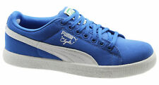 Puma Clyde X UNDEFEATED Canvas Mens Blue Trainers 352768 03 D5