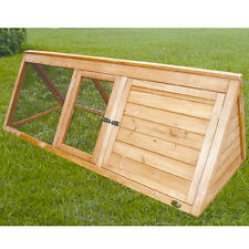 Cheeko Apex Rabbit Hutch Woode Deluxe for Small Animals Flatpack Treated Hutches