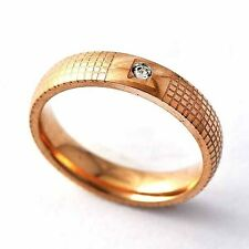 Mesh Clean CZ Mens/Womens Band Promise Love Band Ring Size 6 7 8 9