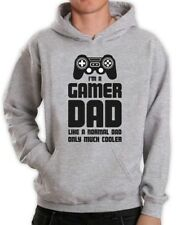 Gamer Dad - Gift for Fathers Cool Dad's Gaming Hoodie Funny