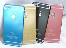 2 SCREEN PROTECTORS + FULL BODY HARD COVER CASE BLUE PINK GOLD GREY IPHONE 4
