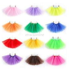 Kids Girls Princess Tutu Skirt Party Ballet Dance Wear Dress Clothes Pettiskirt