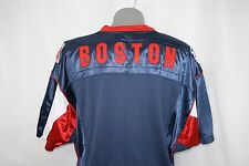 NEW Mens LEE SPORT Navy Blue Boston RED SOX AL Baseball Jersey