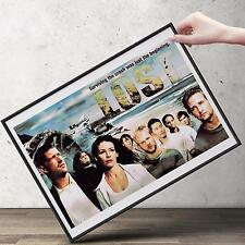 LOST  TV Show Poster | Cubical ART | Gifts For Guys, Geeks | FREE Shipping