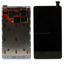 Touch Screen LCD Display Frame Digitizer Assembly Fr Nokia Lumia N800 / 800 BYWG