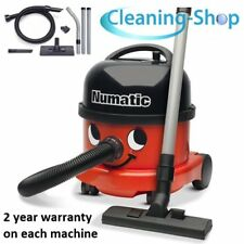 NEW Numatic NRV200 RED Commercial Henry Vacuum Cleaner, James, Free Postage