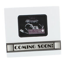 Baby Scan Photo Frame Coming Soon Movie Style Expectant Mum Photograph Gift