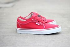 VANS Chukka Low (Red/Khaki/White) Men's Classic Skate Shoes NEW
