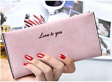 New Fashion Women Lady Leather Clutch Wallet Card Holder Purse Handbag Fast Ship