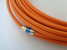 NEW Flooded RG6 RG-6 Direct Burial Coax Coxial Cable Orange