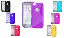 S-Line Wave TPU Soft Silicone Gel Grip Back Case Cover For Apple iPod Touch 5