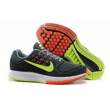 NIKE AIR ZOOM STRUCTURE 18 MENS RUNNING SHOES BLACK VOLT HYPR CRIMSON 683731 001