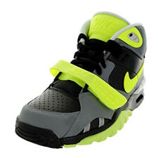 NIKE BOYS AIR TRAINER SC II GS CROSS TRAINERS BLACK VOLT COOL GREY 631488 001