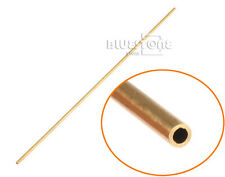 1PC Brass Tube Pipe Tubing Round Inner 2mm 3mm 4mm Long 300mm Wall 0.5mm