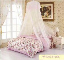 Princess Lace Mosquito Net Canopy Bites Protect For King Queen Full Twin Size