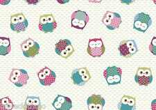OWLS MULTI WIPE CLEAN PVC OILCLOTH LAMINATED TABLECLOTH CO click for sizes