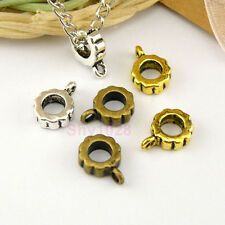 20Pcs Tibetan Silver,Antiqued Gold,Bronze Charm Pendant Bail Connectors M1521