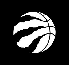 Toronto Raptors Basketball  Decal Window Sticker Multiple colors & sizes NBA