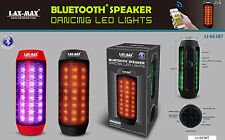 Dancing LED Light Bluetooth Portable MP3 Speaker Player W/ Hands free Talking