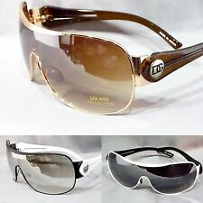 Mens DG Eyewear Designer Fashion Sunglasses Aviator Sports Wrap UV400 Unisex