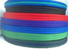 2m Padded Polyester Webbing 19mm Wide Various Colours