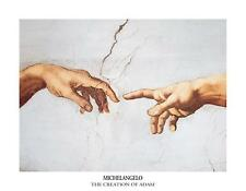 MICHAELANGELO - THE CREATION OF ADAM Poster | Cubical ART | Gift | FREE Shipping