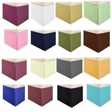 1PC BED SKIRT 1000TC SOLID & STRIPE COLORS 100% EGYPTIAN COTTON IN ALL SIZE