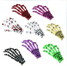 9 Color Hair Clips Hairpin Skeleton Hand Bone Hair Clips