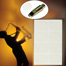 0.8mm Mouthpiece Patches Pads cushion for Saxophone Sax Alto/Tenor Bass Clarinet
