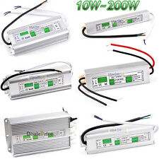 10W-200W Waterproof AC-DC 12V Transformer Power Supply Adapter LED Driver IP67
