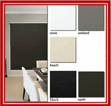 NEW! 90 x 210 Blockout Roller Blind Blinds Holland Ready Made Designer Fabric