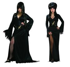 Adult Elvira Mistress of the Dark Costume Small Standard Plus Queen fnt