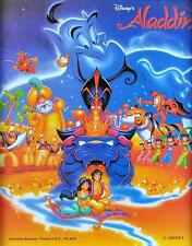 DISNEY ALADDIN CAST  ANIMATED FILM Poster | Cubical ART | Gifts | FREE Shipping