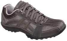 SKECHERS CITYWALK  MALTON CASUAL LACE UP SHOES FOR MEN model 64455-Gray