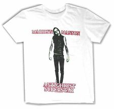 "MARILYN MANSON ""ANTICHRIST SUPERSTAR"" WHITE T-SHIRT NEW OFFICIAL ADULT METAL"