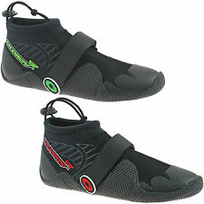 MENS OSPREY NEOPRENE WETSUIT SHOES BOOTS SIZE 5 - 11 BEACH GREEN RED REEF