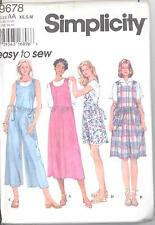 Simplicity 9678 Misses' Jumper and Romper  Sewing Pattern