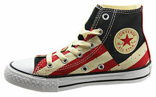 Converse Chuck Taylor AS Kids Hi Fire Brick Trainers Youths Juniors 645156F D23